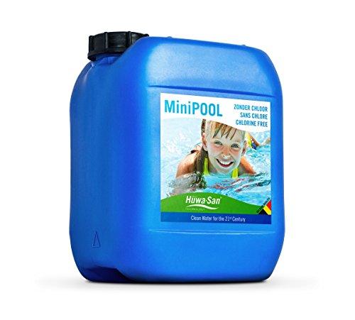 Huwa-San MiniPOOL chlorfreie All-in-One Wasser- & Poolpflege (Wasserstoffperoxid-Basis 7,9 %, 5L bis 10m³)