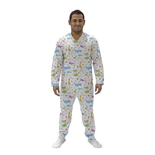 Tykables Snappies Little Rawrs Sleeper Schlafoveralls für ABDL (XX-Large) Sleeper Pyjamas Pjs