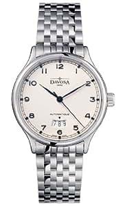 Davosa Herren-Armbanduhr Analog Edelstahl beige 16145610
