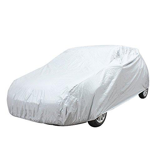 Vococal Universal Auto Outdoor Wasserdicht Regen Staubschutz Autoplanen für Ford Fiesta Xiali Limousine 2000 RIO Buick Segel QQ6 Xiali A + N3, S
