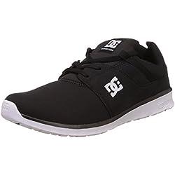 DC Shoes ADYS700071, Zapatilla Hombre, Negro (Black/White BKW), 42.5 EU