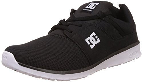DC Heathrow, Herren Sneakers, Schwarz (Dastardly/White - BKW), 44 EU (9.5 Herren UK)