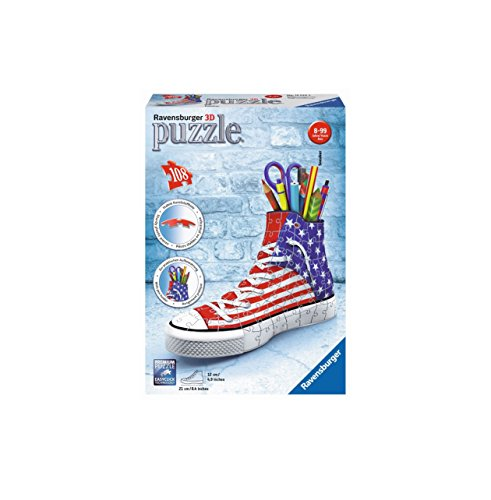 Ravensburger Italy 12549 - 3D Puzzle Sneaker Portapenne