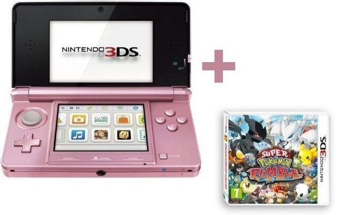 3DS ROSE CORAIL + SUPER POKEMON RUMBLE
