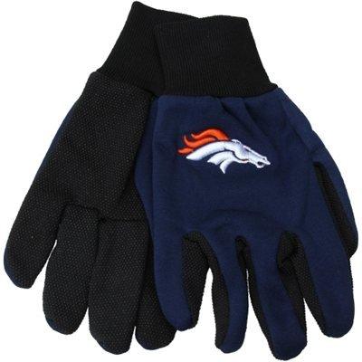 Team-basketball-uniformen (Denver Broncos Zwei Ton Handschuhe–Erwachsene Größe)