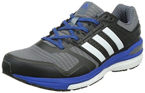 huge discount c746f 73652 adidas Supernova Sequence Boost 8 M - Zapatillas de running para hombre,  color gris   blanco   azul, talla 43 1 3