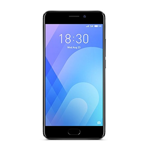 "Meizu M6 Note Dual SIM 4G 32GB Black - Smartphones (14 cm (5.5""), 32 GB, 12 MP, Android, 7.1.2 (Nougat), Black)"