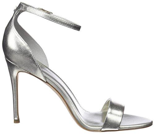 Caviglia oro Sandalo Oro Calzature Talloni Vestito Donna Cinturino Indovinate Alla wzqFYF