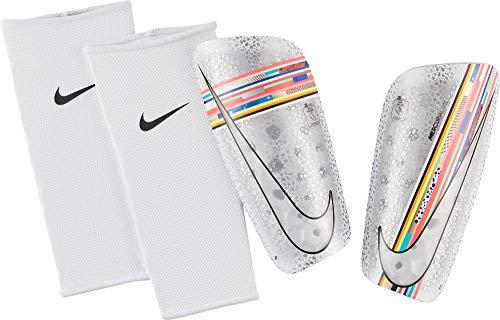 Nike Unisex- Erwachsene Mercurial Lite Schienbeinschoner, Multi-Color/Black/White, M