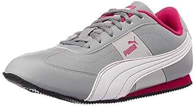 Puma Women's OtiseWn'sDP Quarry and Beetroot Purple Sneakers - 3 UK/India (35.5EU)