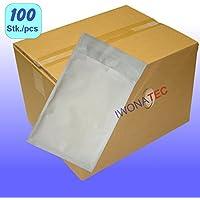 Pack de 100 x Enveloppes à bulles 170x230mm BLANCHES