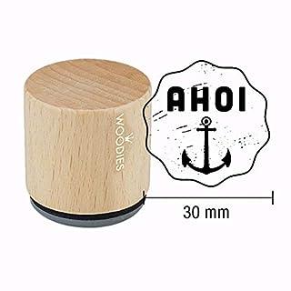 Woodies Motiv-Stempel - Ahoi - Maritim - Eine frische Brise