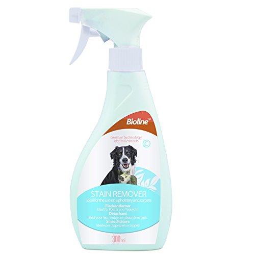 Pet Flecken- und Geruchsentferner für Hunde, Katzen und Haustiere (300ml) eliminiert & neutralisiert die Flecken & Geruch Leistungsstark Enzym Formel Sicher für Haustiere und Möbel