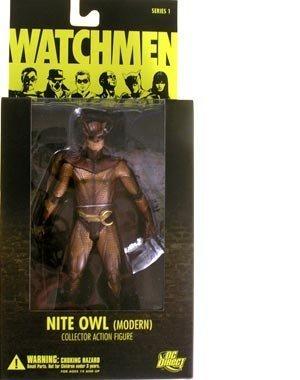 ovie Nite Owl Modern Action Figure by DC Comics ()