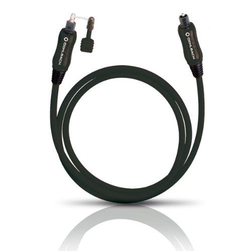 Preisvergleich Produktbild Oehlbach Opto Star Black  Hochwertiges und sehr flexibles optisches Digitalkabel  schwarz  8.00 m