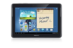 Samsung Galaxy Note 10.1 GT-N8010EAADBT WiFi only (25,7 cm (10,1 Zoll) Tablet (Quad-core, 1,4GHz, 16GB interner Speicher, 5 Megapixel Kamera, Android 4.0)  deep-gray