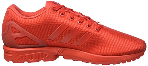 adidas Zx Flux, Sneakers Basses Homme Rouge (Red/Red/Red)