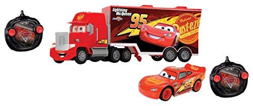 Dickie- Cars 3 Rc Saetta McQueen con Mack Truck, 203088002038
