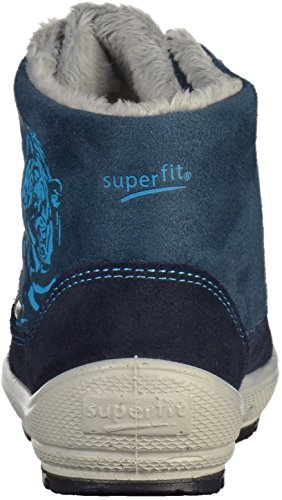 Superfit Groovy Jungen Schneestiefel Blau (Ocean Kombi)