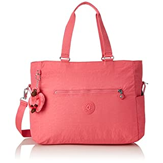 Kipling Adora Baby, Women's Backpack Handbag, Pink (City Pink), 15x24x45 cm (W x H x L)