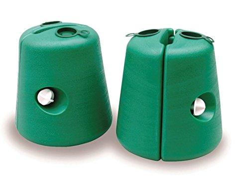 Brunner coppia base per gazebo, colore verde