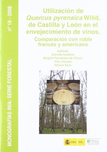 Utilizacion del quercus prenayca wild de Castilla León en envejecimiento de vinos comp.roble frances amer