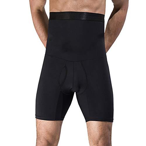 Lanceasy Men Bauch-Steuer Shorts, Männer Heben Körper Schlankheits-Schlüpfer Kurz Former-Taille Breath Trainer Bauch-Steuer (Trainer Shorts Männer)