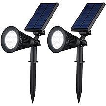 [Versione Nuova] 2 PACK VicTsing Lampada Solare da Esterna 200