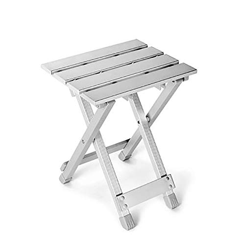 Outdoor Camping Klapptisch und Stuhl Set, Aluminiumlegierung leichte tragbare Picknicktisch und Stuhl, für Strandreisen Garten Hof Picknick Grill zu Hause,XS