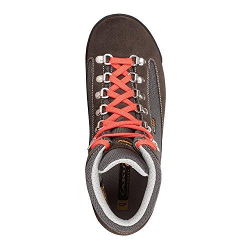 AKU , Chaussures de randonnée montantes pour femme Nero (Black/Fluo Red)