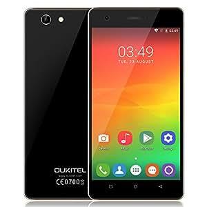 Oukitel C4 Smartphone 4G FDD-LTE 3G WCDMA 5.0 Zoll Quad-Core 1.3GHz Android 6.0 1GB RAM + 8GB ROM 5MP + 8MP Dual-Kameras