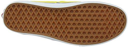 Vans U Authentic , Baskets mode mixte adulte Jaune (Vibrant Yellow/True White)