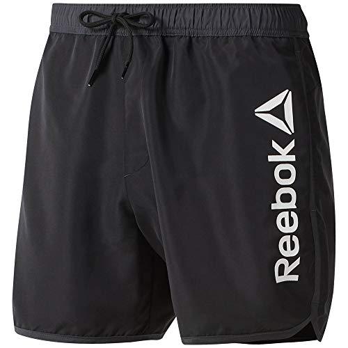 Reebok BW Retro Bañador, Hombre, Negro/Colgr7, L