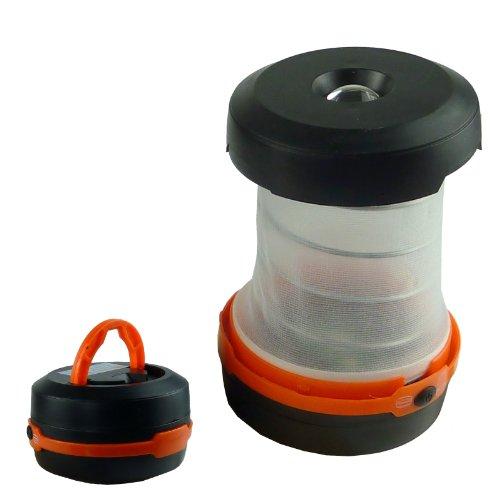 Lanterne de camping pliable avec poignée de transport