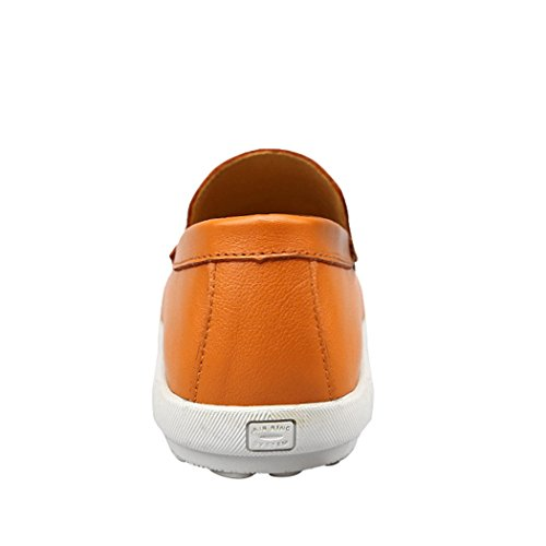 Goorape Mocassins Pour Homme Orange