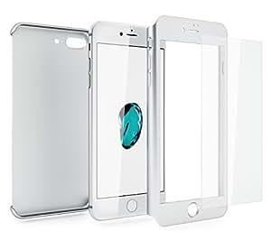 coque 360 iphone 8 argent