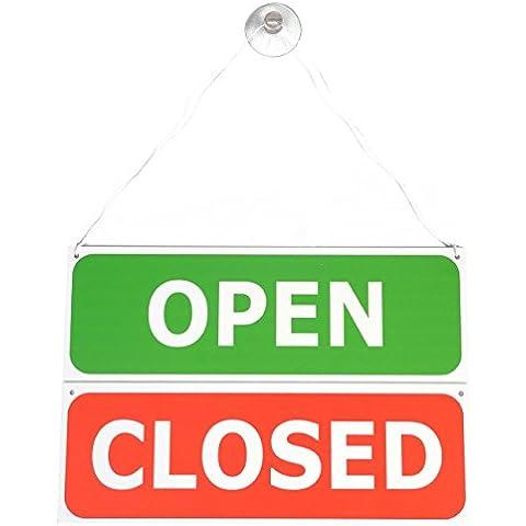 Double Sided Hanging aperto/chiuso porta segno
