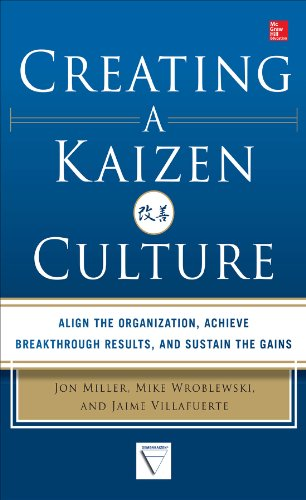 Creating a Kaizen Culture: Align the Organization, Achieve Breakthrough Results, and Sustain the Gains (English Edition)
