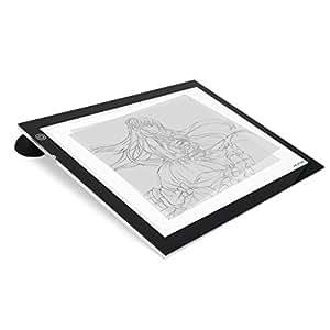 Huion a3 avec rondelles et papier calque table lumineuse for Table lumineuse a3