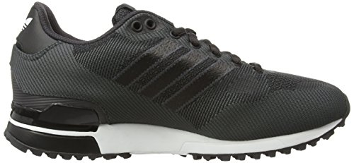 adidas ZX 750 WV, Baskets Basses Homme Noir (Shadow Black S16-St/Core Black/Ftwr White)