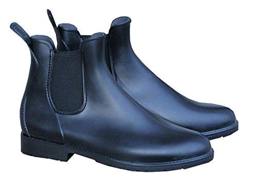 PVC Stiefelette Cardiff schwarz, Elastikeinsatz Gr. 31 | Stiefeletten für Kinder PVC Stiefelette, Jodhpurstiefelette, Reitstiefelette, PVC Reitstiefelette