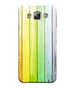 PrintVisa Designer Back Case Cover for Samsung Galaxy E5 (2015) :: Samsung Galaxy E5 Duos :: Samsung Galaxy E5 E500F E500H E500Hq E500M E500F/Ds E500H/Ds E500M/Ds (Purpule pink brown blue yellow combination)