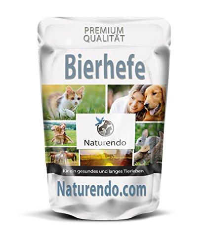 Naturendo Pferde Bierhefe 1500g XL Beutel. fördert die natürliche Biotin-Produktion (Vitamin H)