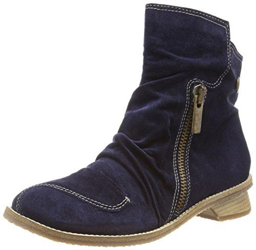 Tiggers ILONA Damen Kurzschaft Stiefel Blau (Navy)