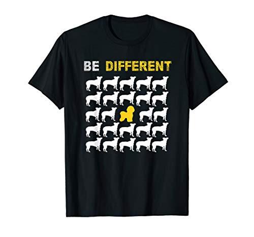 Netter Bichon Frise ist unterschiedliche Inspiration T-Shirt -