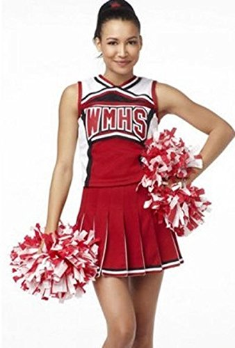 LIUYU Vibrierende Rote Baseball Cheerleader Kostüm Schuluniformen Sexy Unterwäsche (Leisure Kostüme Suit)