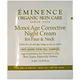 Emonence Monoi Night Cream Face& Neck Card Sample set of 6 travel size