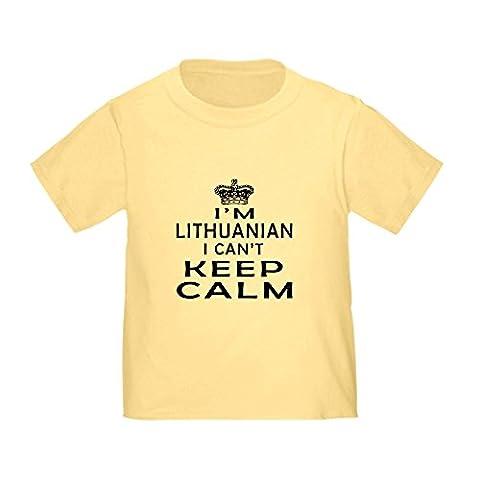 CafePress - I Am Lithuanian I Can Not Keep Calm Toddler T-Shir - Cute Toddler T-Shirt, 100% Cotton