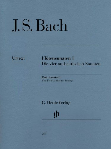 Sonates pour Flûte, Volume I (les Quatre Sonates Authentiques - avec Partie de Violoncelle)