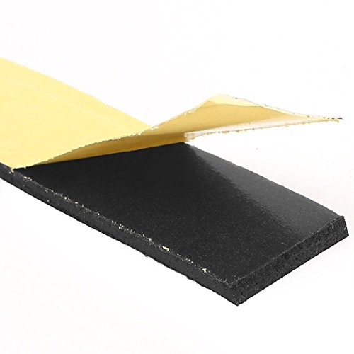4m 25mm x 3mm single side klebeschaum dichtband f r t r fenster stahlring metall eisenwaren. Black Bedroom Furniture Sets. Home Design Ideas